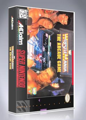 SNES - WWF WrestleMania: The Arcade Game