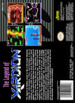 SNES - Xardion (back)