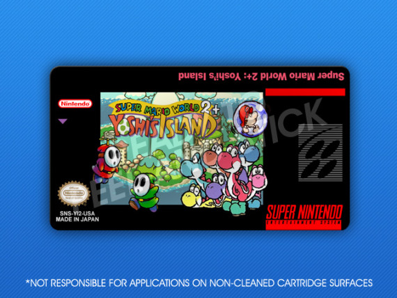 SNES - Super Mario World 2+: Yoshi's Island Label