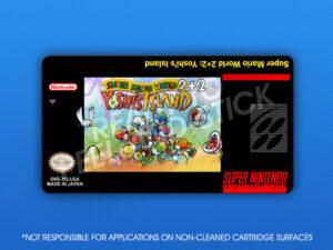 SNES - Super Mario World 2+2: Yoshi's Island Label