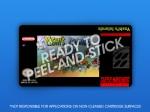 SNES - Yoshi's Islands Label