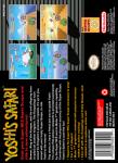 SNES - Yoshi's Safari (back)