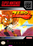 SNES – Zero: The Kamikaze Squirrel (front)