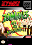 SNES - Zombies Ate My Neighbors (front)