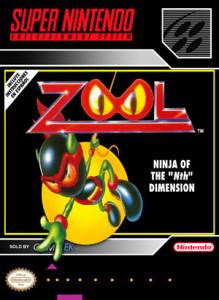 SNES - Zool (front)