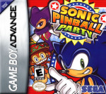 GBA - Sonic Pinball Party (front)