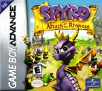 GBA - Spyro: Attack of the Rhynocs (front)