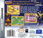 GBA - Spyro 2: Season of Flame (back)