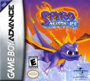 GBA - Spyro: Season of Ice (front)