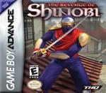 GBA - The Revenge of Shinobi (front)