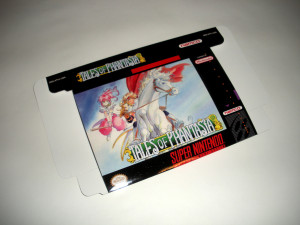 SNES - Tales of Phantasia Game Box