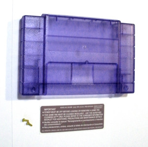 Translucent Grape SNES Cartridge Shell