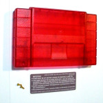 Translucent Red SNES Cartridge Shell