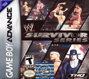 GBA - WWE Survivor Series (front)