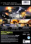 Xbox - Medal of Honor: European Assault (back)