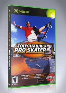 Xbox - Tony Hawk's Pro Skater 3