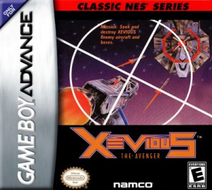 GBA - Xevious The Avenger (front)