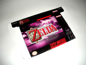 SNES - Legend of Zelda: Ancient Stone Tablets Game Box