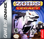 GBA - Zoids Legacy (front)
