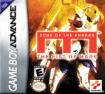GBA - Zone of the Enders: The Fist of Mars (front)
