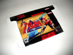 SNES - Legend of Zelda: Parallel Worlds Game Box
