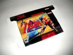 SNES - Legend of Zelda: Parallel Worlds Game Box